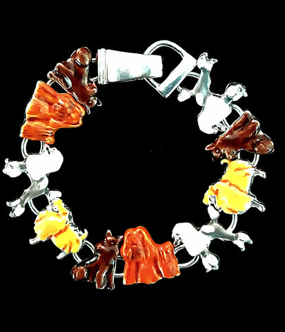 Dogs Themed Bracelet