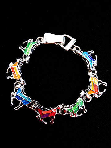 Horse-Multi Themed Bracelet