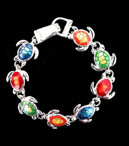 Sea Turtle Themed Bracelet-Multi