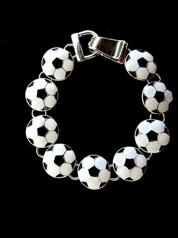 Soccer Themed Bracelet