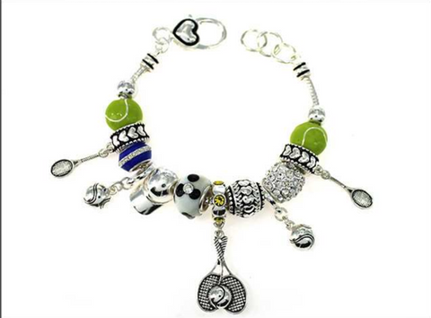 Tennis Multi Bead Bracelet