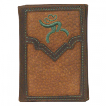 ROUGHY SIGNATURE TRI-FOLD WALLET