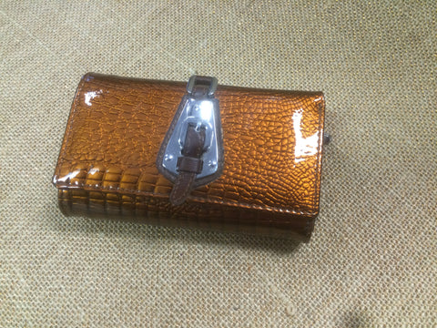 Brown and Copper Wallet