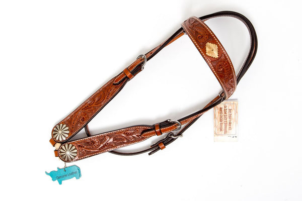 Western Tool Leather Head Stall