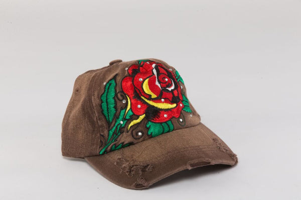 Roses Ladies Cap