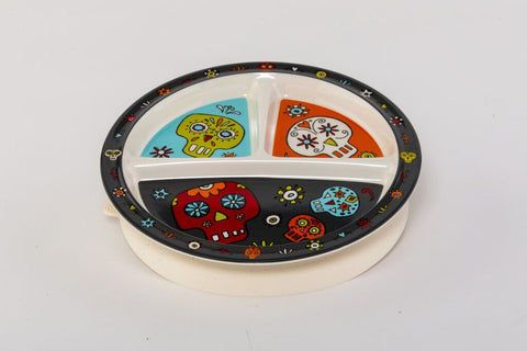 Dia de los Muertos Divided Suction Plate