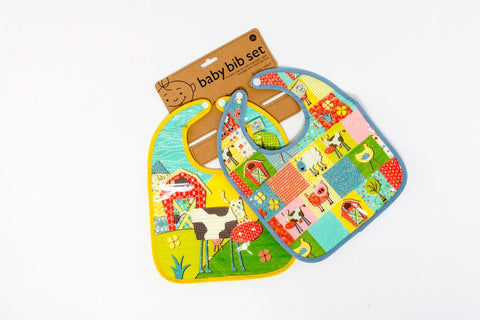 Farm Mini Bibs (set of 2)