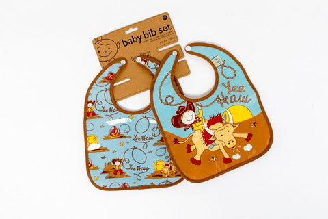 YeeHaw Mini Bibs (set of 2)