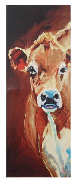 Long Cow Canvas
