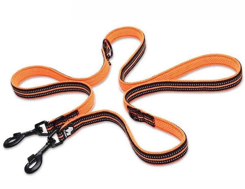 Double Ended Dog Lead | Padded | Double Clip | Truelove | TLL2411