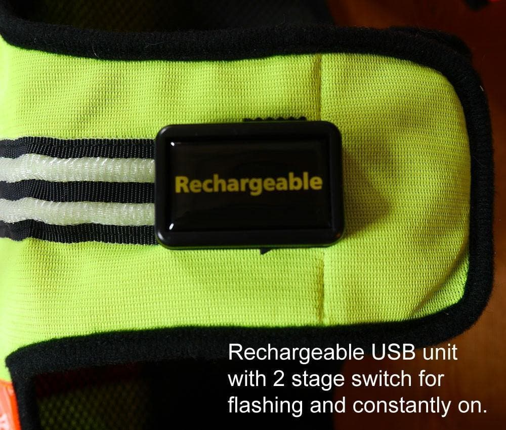 rechargeable controller for led dog jacket