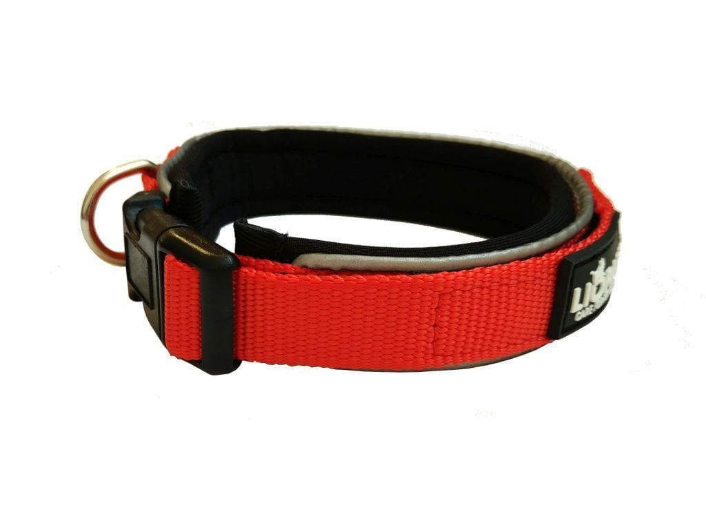 Liopard Padded Polyester and Neoprene Dog Collars