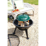 Pizza Fire Pit - 60cm dia - Black