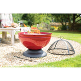 Globe Fire Pit and BBQ - 60cm - Enamel