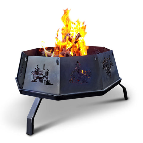 Sure-Thing Foldup Fire Pit 900