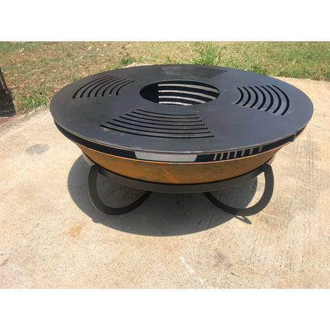 Teppanyaki Grill Plate for 75cm & 90cm Fire Pits