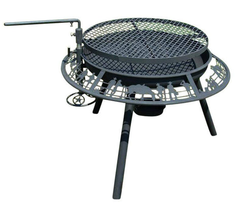 BBQ/ Fire Pit 900mm - Fire Pits Direct