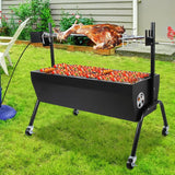 Spit Roaster with 230V Rotisserie - Heavy Duty - 1M