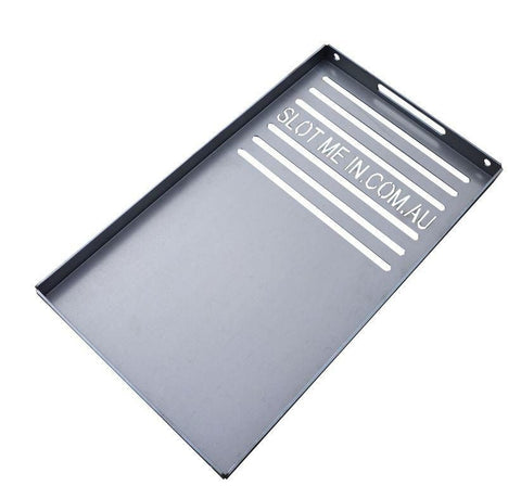 The Wedge™ Combo Steel/Grill Hot Plate