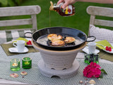 CosyRoast® BBQ Fire Pit - 35cm - Ceramic - Portable + Free stainless stand valued at $149.00