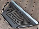 Equilateral Fire Pit Grill Plates