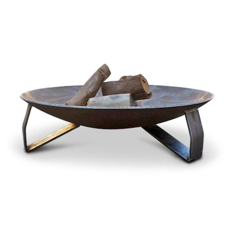 Eternity Brazier Fire Pit 80cm dia 8mm Forged Steel