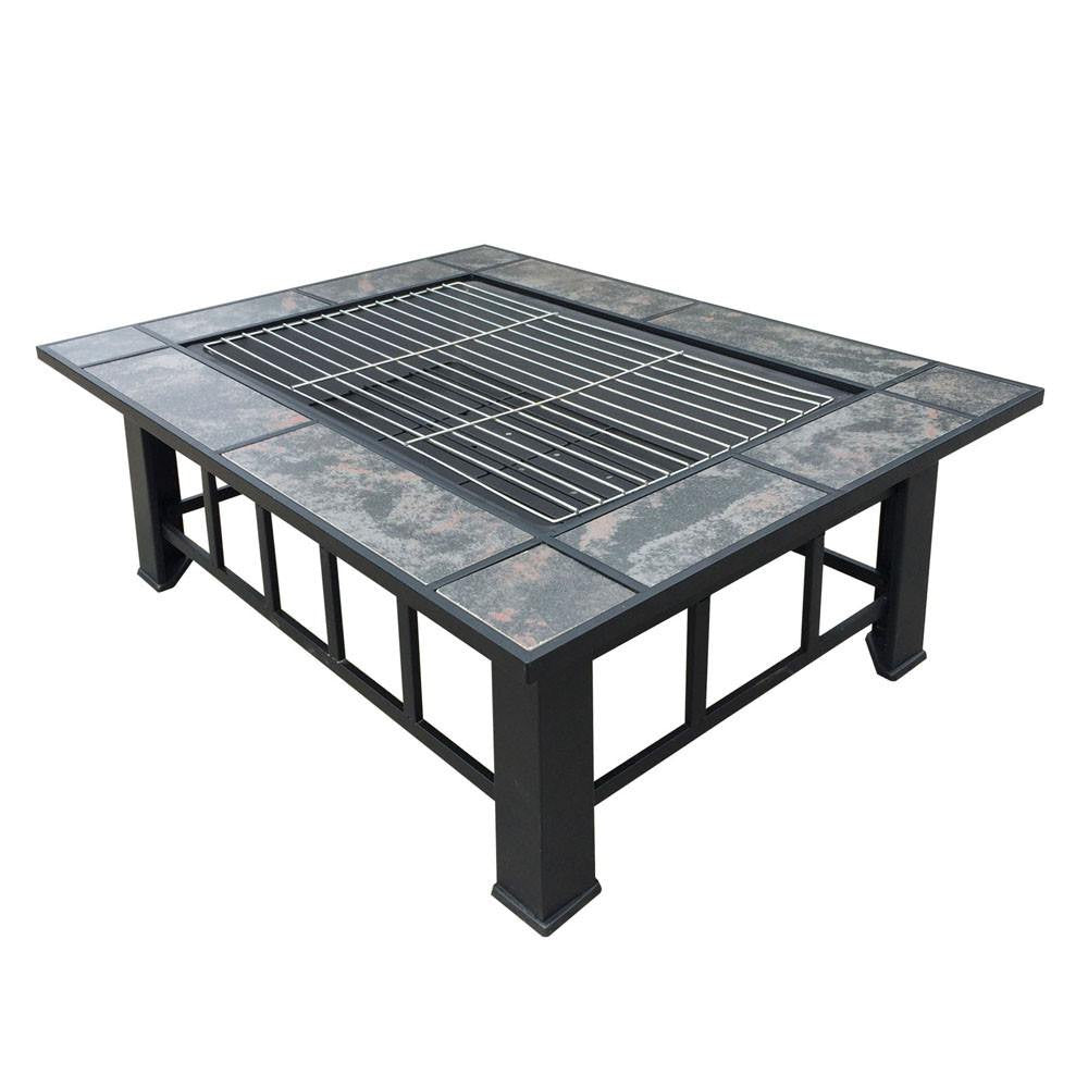 BBQ Fire Pits Fire Pits Direct - Grill table fire pit all in one
