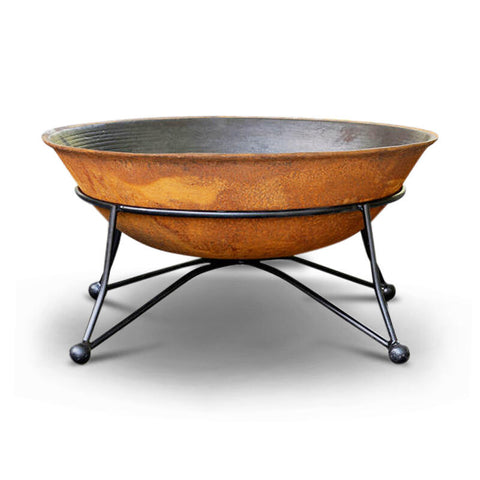 Art Deco 75 Cast Iron Fire Pit