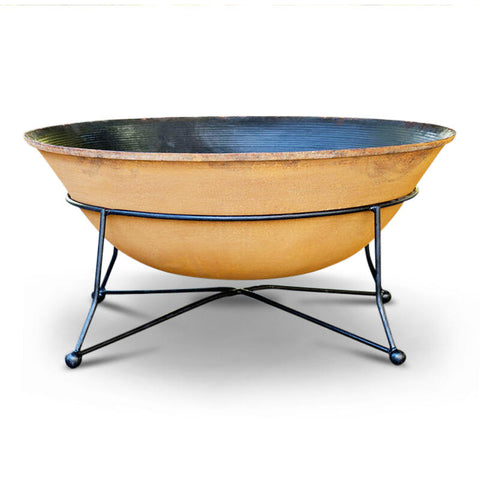 Art Deco 90 Cast Iron Fire Pit