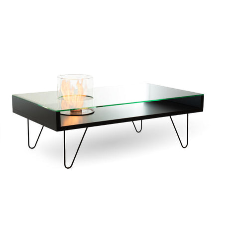 Fire Coffee Table Indoor MDF Ethanol