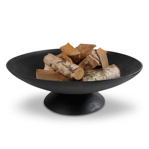 Fire Pit Bowl Giant - Cast Iron 78cm - Black