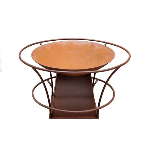Fire Pit Bowl, Rail & Base by Entanglements