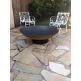 Cast Iron Fire Pit 1100 on Ring Base