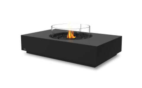 Martini 50 All Black Ethanol Burner Fire Table