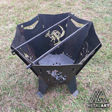 Nomad Camp Brazier Fire Pit