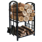 Two Tier Wood Racks
