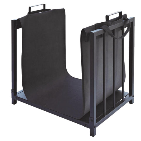 Wood Rack with Sling