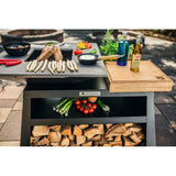 Quan Medium Island Wood Fired BBQ