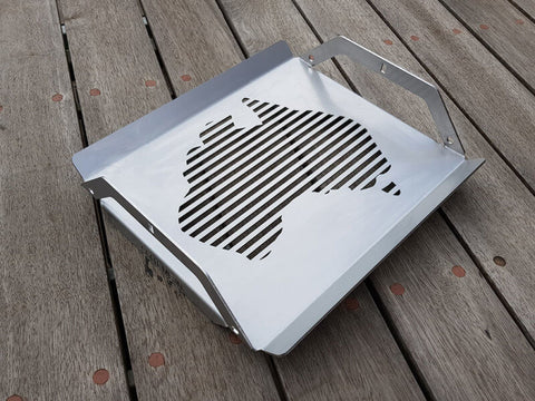 SMI Aussie Red Hot Centre™ Stainless Steel Grill