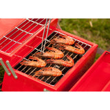 Red Barbeque Toolbox
