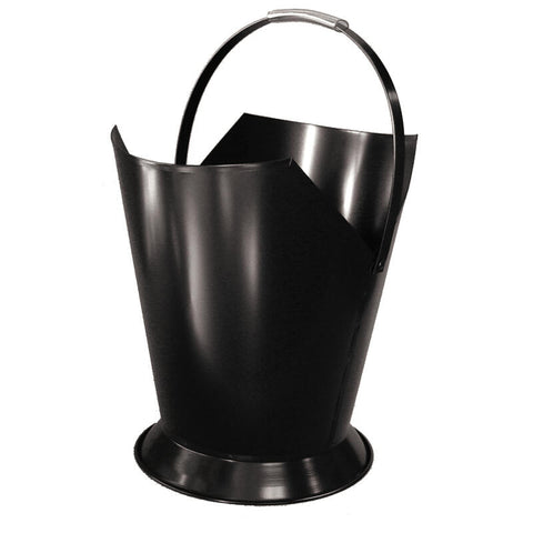 Wood Bucket Tapered Black