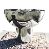 Goblet Fire Pit 80cm Stainless Steel