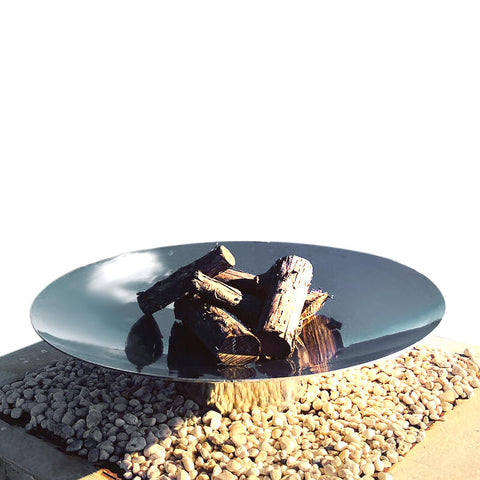 The Cauldron Fire Pit 80cm Stainless Steel