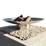 The Cauldron Fire Pit 100cm Stainless Steel
