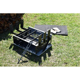 The Wedge Fire Pit™ & Camp Cooker XPWB™ 450