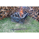 The Wedge Fire Pit™ & Camp Cooker XPWB™ 600