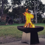 Goanna Outdoor Fire Pit 100cm - Fire Pits Direct