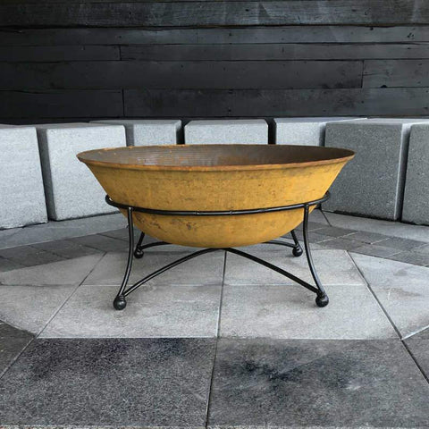 Art Deco 110 Cast Iron Fire Pit