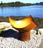 The Chalice Fire Pit - Cast Iron - 80cm dia - Rust