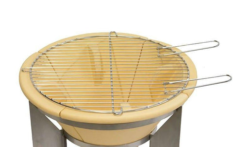 Comfy Brazier Fire Pit Pan & Grill